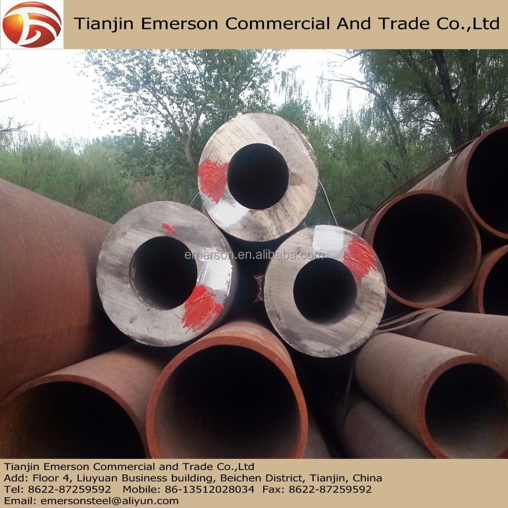 High Pressure Boiler Tube 12Cr1MoVG Seamless Steel Pipe