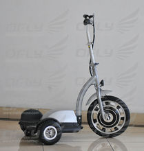 small folding electric vehicle 36V 12AH Stable quality CE approved 350W three wheel electric scooter