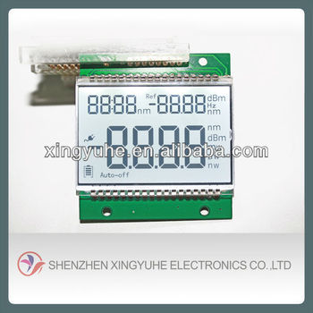 segment lcd display TN positive number display board