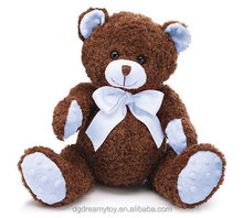 CE organic cotton teddy bear stuffed soft toys
