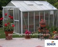 Tempered glass house