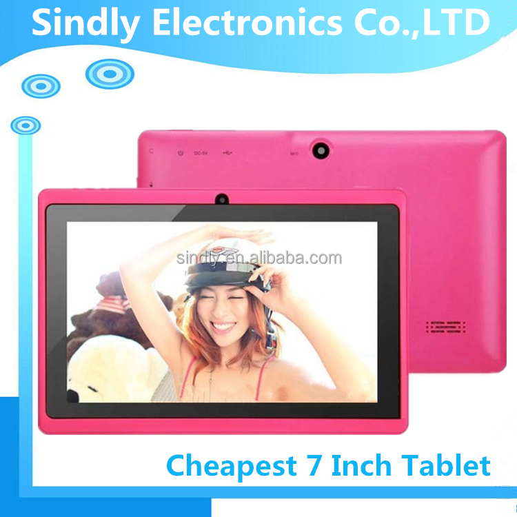 7 inch arm mali-400 3d gpu tablet pc