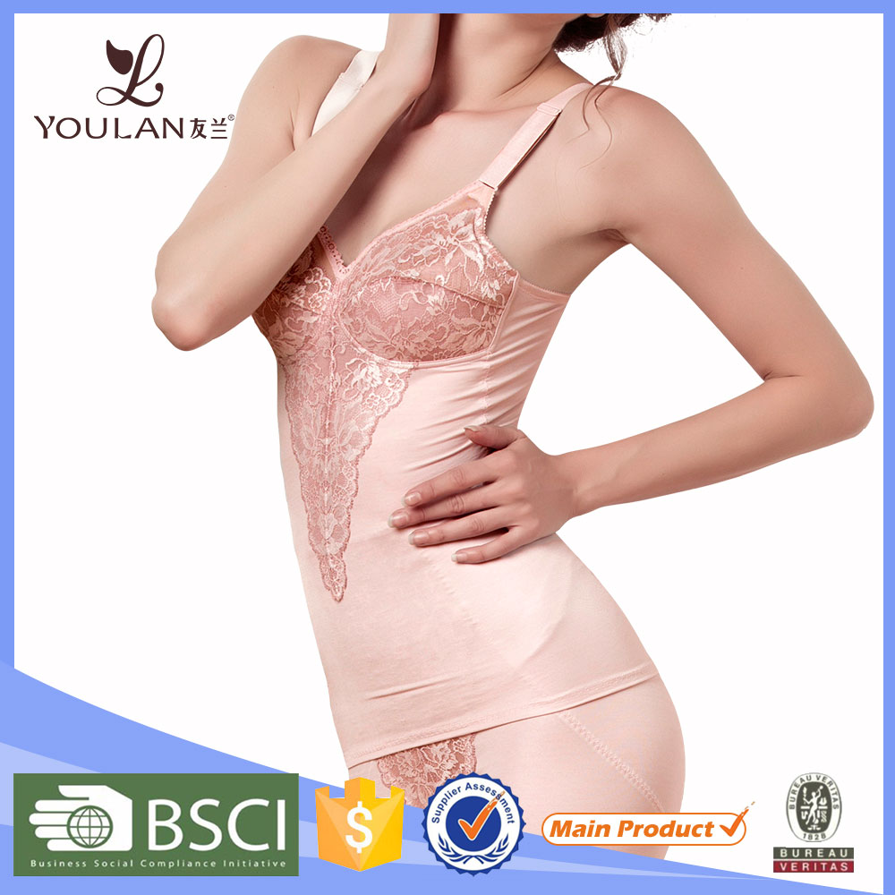 Lace Bodysuit Waist Training Wholesale sexy girdle fabric