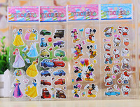 free cartoon sticker PVC Cute Stickers for Kids and Children