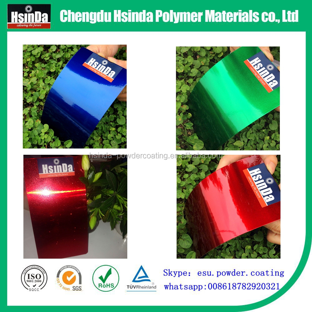 Hot sell Ral color chart free sample names paints powder coating
