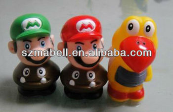 Plastic pvc mario figure gifts toys