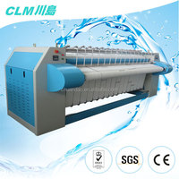 CLM laundry shop ironer for bed sheet, quilt cover, tablecloth, linen CE&ISO