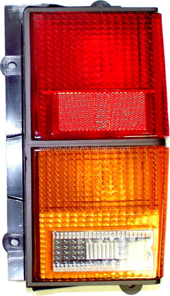 Tail Lamp 83504317 83504316 Rear, Amber, Red Jeep Cherokee XJ 1984/1996