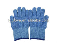 cut resistant glove shell, food production using