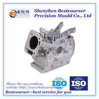 precision aluminum die casting mold for cylinder blocks