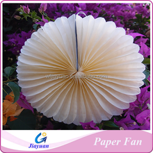 Pretty Tissue Paper Fan Decorations for Baby Shower or Birthday Background Decor