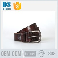 Unisex fashion camouflage belt made of strong cow leather in China