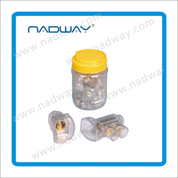 NADWAY convenient portable durable single and double 35A Screw Connectors