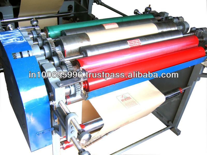 Tobacco paper bag making machine