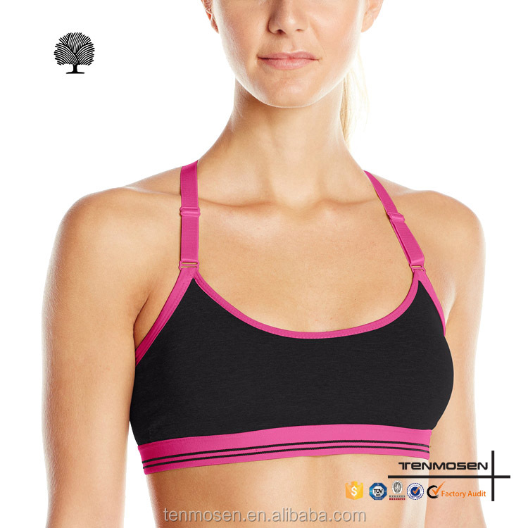 Hot custom gym wear seamless women sports bra ladies sexy yoga bra