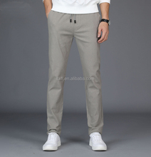 2018 New Design low price OEM cotton twill pants for men online