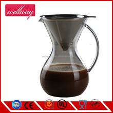 Hand Drip Coffee Maker with sturdy handle