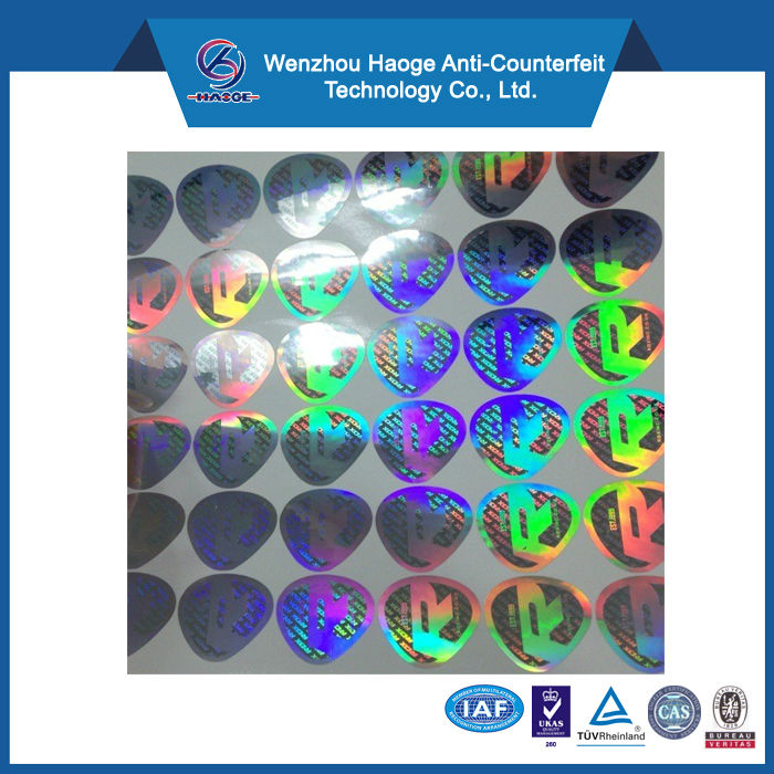 Hologram fake designer labels