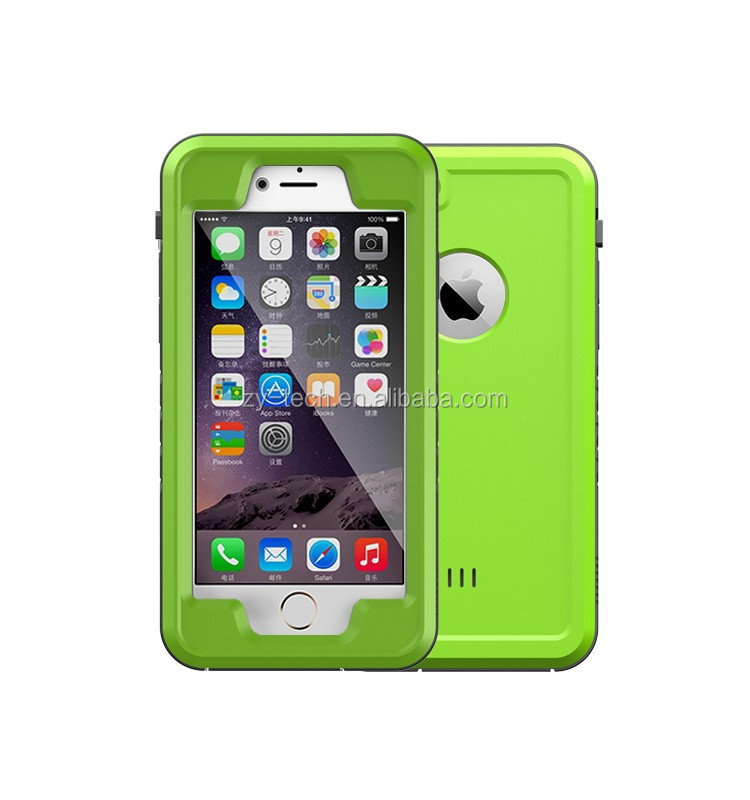 For iphone 6 waterproof case, waterproof phone case for iphone 6 with dot view design