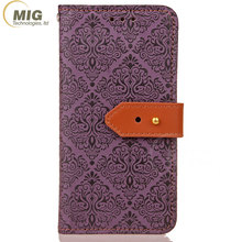 Wallet PU leather case soft TPU cover cover for iPhone 7 7plus 8 mobile phone accessories factory in china