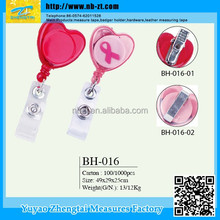 competitive price high quality badge holder with plastic pocket for wholesale