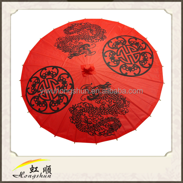 wholesale Popular The Chinese ancient paper craft umbrella