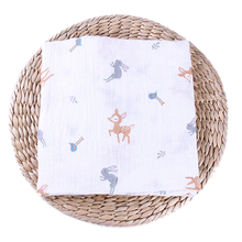 Gauze Fabric Muslin Baby Blanket Swaddle <strong>120</strong> *120cm