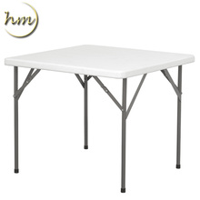 Cheap Outdoor Square Table Plastic Folding Table
