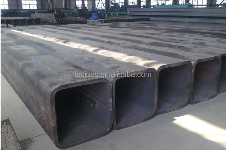 zinc coating square steel tube Q295 / Q345 from China Supplier