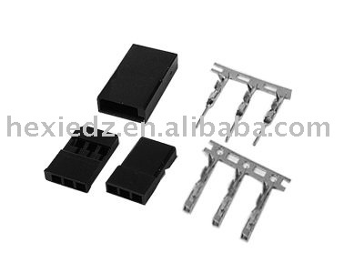 JR/Futaba RC servo connectors(housing,terminals,con headers)