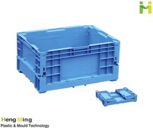 Plastic collapsible Crates for Vegetables and Food Distribution