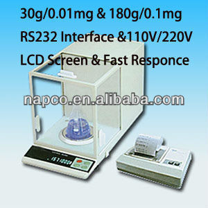 Weighing 0.00001g Laboratory Microgram Scale