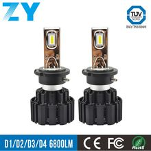 Auto lighting system car head lamp and lights H7 100W 13600LM 6000K motorcycle led projector headlights bulb H8 H9 H11