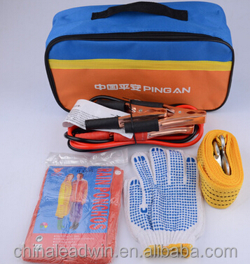 Promotion Gift Cheap Car Safety Kit Tool Bag Emergency Kit For Vehicle