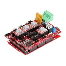 Hot Sales RAMPS1.4 Controller+A4988+2560 Motherboard Kit For Reprap 3D Printer