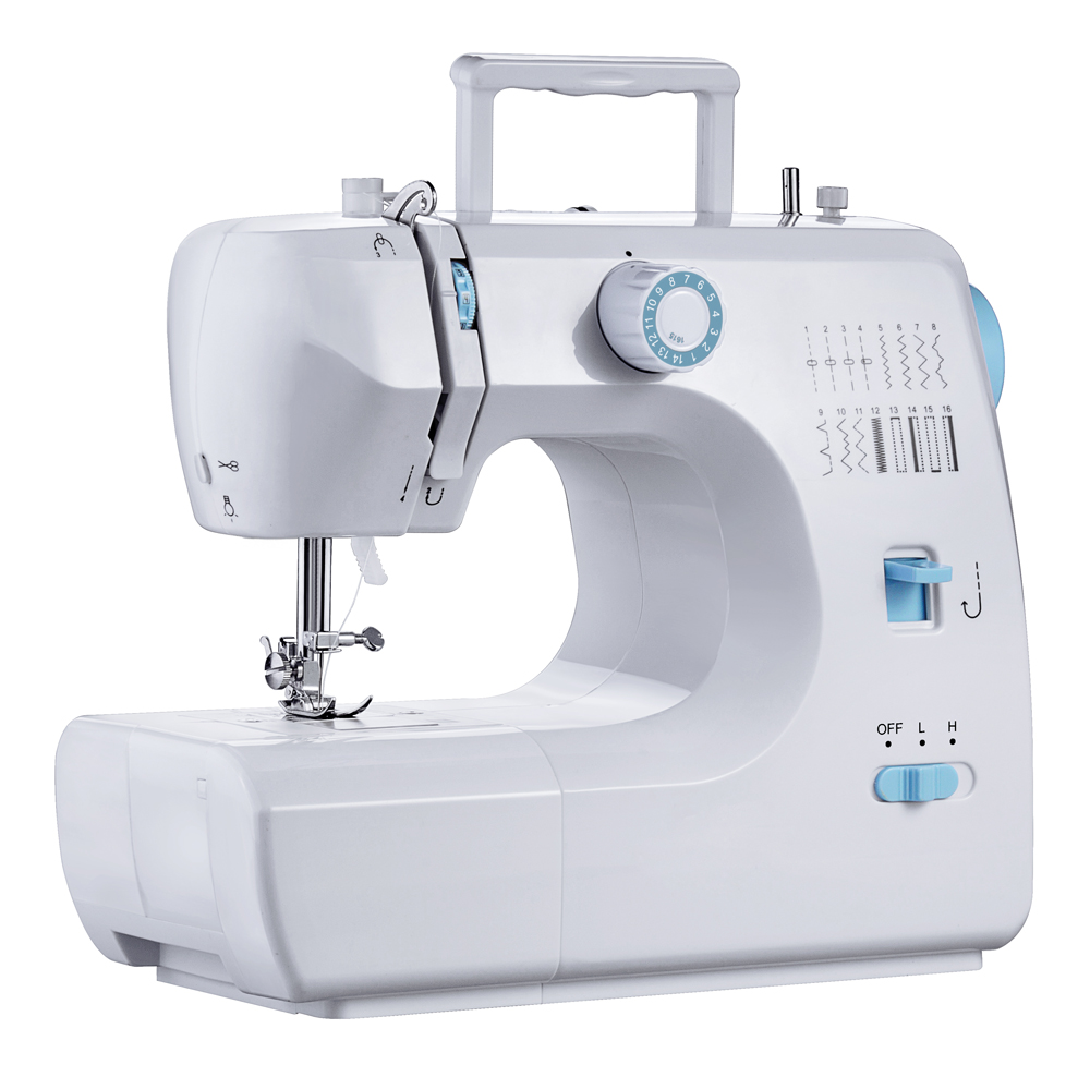 Walking foot zig zag lockstitch household sewing machine FHSM-700 with speed pedal