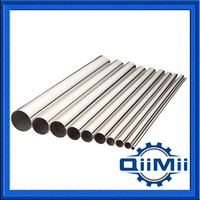 Seamless Stainless Steel Tube with Mirror Polished in both inner and outer surface, matching sanitary standards