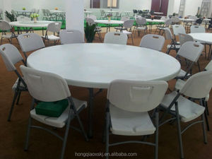 wholesale stable round 6ft folding dining banquet event table for sale