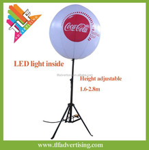 Inflatable Tripod standing balloons with led light