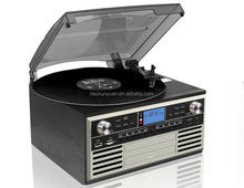 Shenzhen phonograph wholesale portable vinyl records cd turntable player
