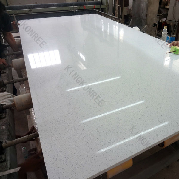 Quartz stone flooring / quartz based engineered stone