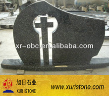 Polished Absolute black muslim tombstone