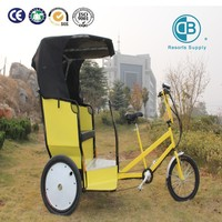 3 wheel passenger's electric tricycle pedal assisted