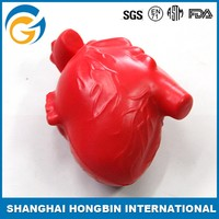 Custom Heart Shape Anti Stress Ball