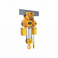electric 3 ton chain hoist, G80 chain from Japan, fixed type chain hoist