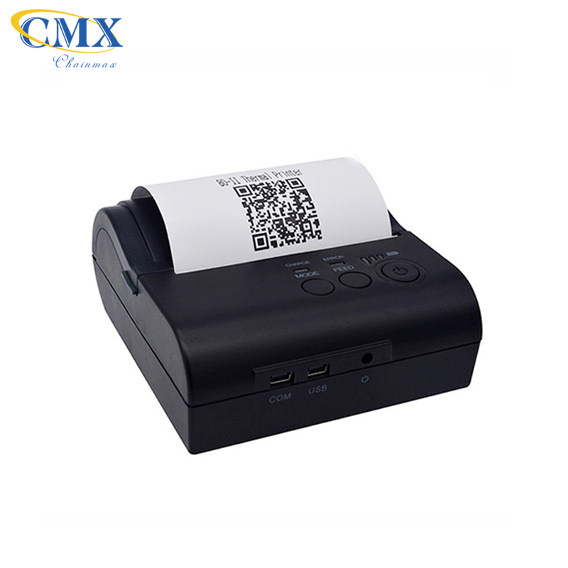 Mini wireless Android handheld portable 80mm mobile bluetooth receipt thermal <strong>printer</strong>