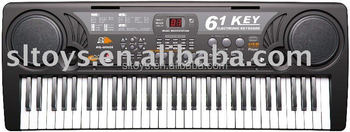 61 keys musical keyboards MQ-809USB