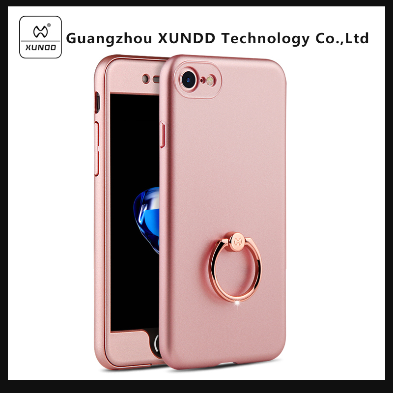 [XUNDD] 2017 New arrival hard pc case 360 degree Full Cover for iphone 7 Mobile Phone Case