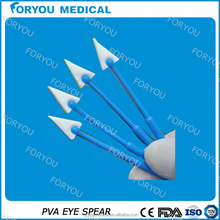 Corneal procedures surgical disposable medical eye spear dressing