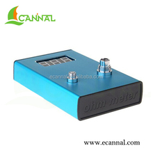 Ecannal Rechargeable e cig ego 510 ohm meter